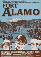 The Alamo - Danish Movie Poster (xs thumbnail)