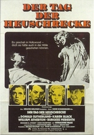 The Day of the Locust - German Movie Poster (xs thumbnail)