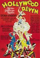 The Hollywood Revue of 1929 - Swedish Movie Poster (xs thumbnail)