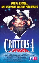 Critters 4 - French VHS movie cover (xs thumbnail)