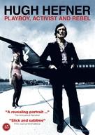 Hugh Hefner: Playboy, Activist and Rebel - Danish DVD cover (xs thumbnail)