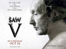 Saw V - British Movie Poster (xs thumbnail)