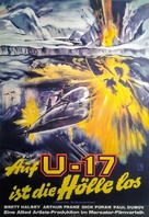 The Atomic Submarine - German Movie Poster (xs thumbnail)