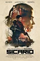 Sicario - Norwegian Movie Poster (xs thumbnail)