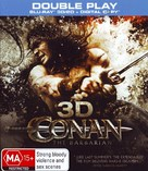 Conan the Barbarian - Australian Blu-Ray movie cover (xs thumbnail)