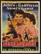 We Were Strangers - Belgian Movie Poster (xs thumbnail)