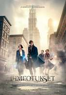 Fantastic Beasts and Where to Find Them - Finnish Movie Poster (xs thumbnail)