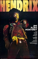 Jimi Plays Monterey - Movie Poster (xs thumbnail)
