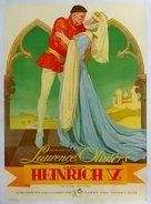 Henry V - German Movie Poster (xs thumbnail)