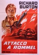 Raid on Rommel - Italian Movie Poster (xs thumbnail)