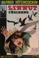 The Birds - Finnish Movie Poster (xs thumbnail)