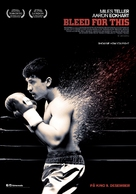Bleed for This - Norwegian Movie Poster (xs thumbnail)