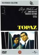 Topaz - Danish DVD movie cover (xs thumbnail)
