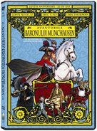 The Adventures of Baron Munchausen - Romanian DVD movie cover (xs thumbnail)