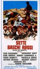 Sette baschi rossi - Italian Movie Poster (xs thumbnail)