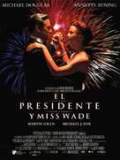 The American President - Spanish Movie Poster (xs thumbnail)