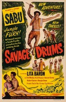 Savage Drums - Movie Poster (xs thumbnail)