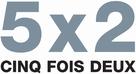 5x2 - French Logo (xs thumbnail)