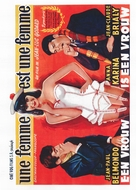 Une femme est une femme - Belgian Movie Poster (xs thumbnail)