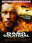 Collateral Damage - Spanish Movie Poster (xs thumbnail)