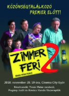 Zimmer Feri 2. - Hungarian Movie Poster (xs thumbnail)