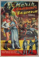 Flash Gordon Conquers the Universe - Turkish Movie Poster (xs thumbnail)