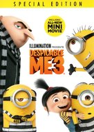 Despicable Me 3 - DVD movie cover (xs thumbnail)