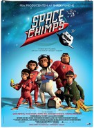 Space Chimps - Danish Movie Poster (xs thumbnail)