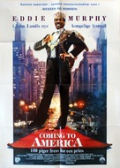 Coming To America - Danish Movie Poster (xs thumbnail)