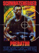 Predator - German Movie Poster (xs thumbnail)
