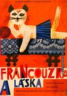 La française et l'amour - Czech Movie Poster (xs thumbnail)