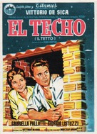 Il tetto - Spanish Movie Poster (xs thumbnail)