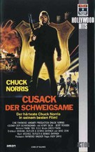 Code Of Silence - German VHS cover (xs thumbnail)