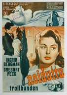 Spellbound - Finnish Movie Poster (xs thumbnail)