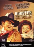 Rooster Cogburn - Australian DVD movie cover (xs thumbnail)