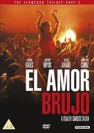 Amor brujo, El - British DVD cover (xs thumbnail)
