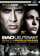 The Bad Lieutenant: Port of Call - New Orleans - French DVD cover (xs thumbnail)