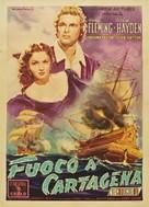 The Golden Hawk - Italian Movie Poster (xs thumbnail)