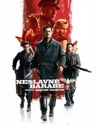 Inglourious Basterds - Slovenian Movie Poster (xs thumbnail)