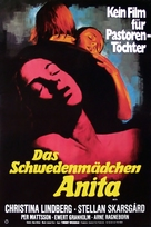 Anita - German Movie Poster (xs thumbnail)