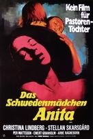 Anita - German Movie Poster (xs thumbnail)