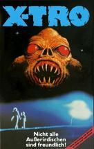 Xtro - German VHS cover (xs thumbnail)