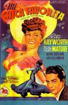 My Gal Sal - Spanish Movie Poster (xs thumbnail)