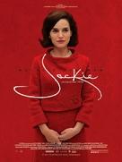 Jackie - Brazilian Movie Poster (xs thumbnail)