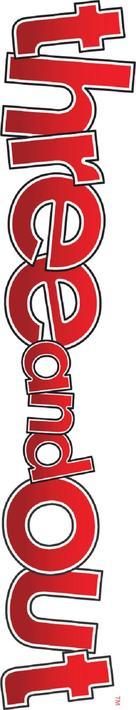 Three and Out - British Logo (xs thumbnail)