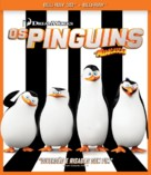 Penguins of Madagascar - Brazilian Blu-Ray movie cover (xs thumbnail)