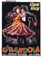 Carefree - Italian Movie Poster (xs thumbnail)