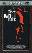 The Godfather - German VHS movie cover (xs thumbnail)