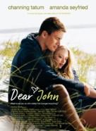 Dear John - Danish Movie Poster (xs thumbnail)