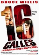 16 Blocks - Argentinian Movie Poster (xs thumbnail)